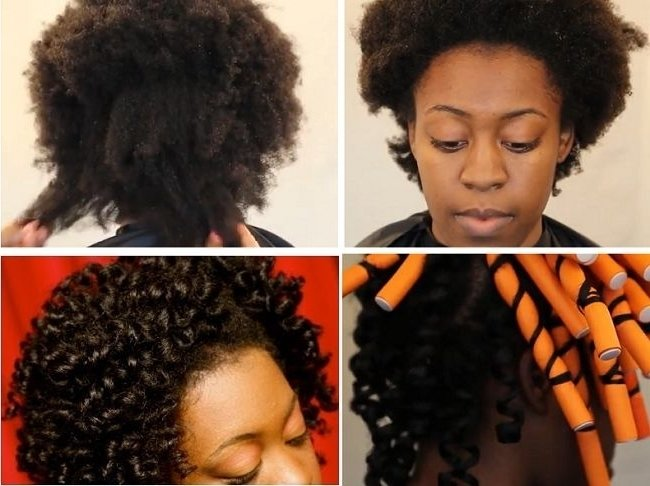 47 Best Flexi Rods Images On Pinterest Throughout Flexi Rod On Short Natural Hair Lyfe Republic